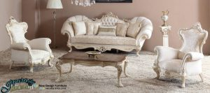 Set Sofa Tamu Mewah Eropa, SST-014