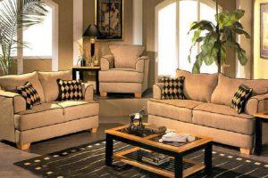 Set Sofa Tamu Minimlais Baru, SST-016