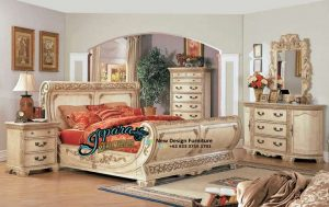 STT-012, Set Tempat Tidur Mewah Antik, Set Tempat Tidur Klasik Antik, Set Kamar Klasik, Kamar Set Klasik, Model Dipan, Set Tempat Tidur Klasik, Set Kamar Tidur, Gambar Tempat Tidur Terbaru