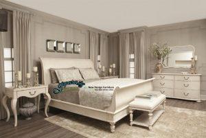 STT-014, Set Tempat Tidur Klasik Minimalis, Set Tempat Tidur, Kamar Set, Set Kamar, Set Dipan, Dipan Set