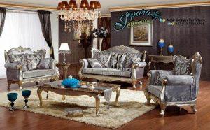 Kursi Sofa Ruang Keluarga Klasik Terbaru SST-076