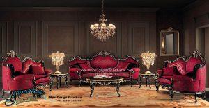Kursi Sofa Tamu Set Modern Klasik Mewah Terbaru SST-083