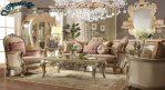 Model Sofa Ruang Keluarga Mewah Klasik SST-075