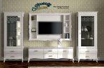 Set Rak TV Minimalis Jepara Terbaru Modern BT-043