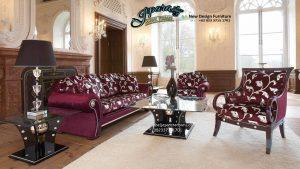 Set Sofa Ruang Tamu Klasik Eropa Murah Mewah SST-070