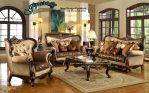 Set Sofa Ruang Tamu Klasik Ukiran Jepara Modern SST-092
