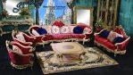 Set Sofa Ruang Tamu Terbaru Mewah Klasik Modern SST-088