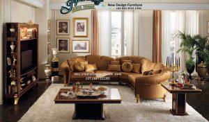Set Sofa Ruang Tamu Terbaru Mewah Minimalis Sudut SST-068