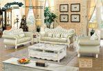 Set Sofa Ruang Tamu Terbaru Modern Klasik Mewah SST 067