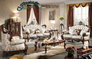 Sofa Ruang Keluarga Terbaru Klasik Modern SST-081