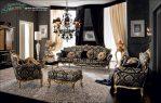 Kursi Tamu Casanova Mewah Modern Gold Klasik SST-120, 1 Set Sofa Tamu, Kursi Tamu Mewah Modern, Furniture Jepara, Gambar Mebel Jepara, Sofa Tamu Mewah Modern