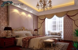 Set Kamar Tidur Terbaru Ukiran Mewah Arabian STT-047