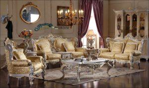 Set Kursi Tamu Modern Klasik Mewah Ukiran Atena Terbaru SST-122, Sofa Tamu Modern Klasik, Kursi Tamu Modern Klasik, Jual Set Sofa Tamu Modern Klasik
