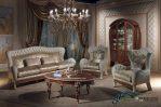 Set Sofa Ruang Tamu Klasik Mewah Luxury Terbaru Vanity SST-095