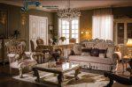 Set Sofa Tamu Ukiran Klasik Terbaru Mewah Kudos SST-098