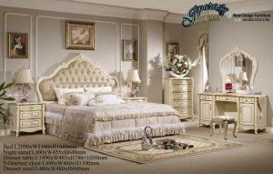 Set Tempat Tidur Terbaru Duco Mewah Florentina STT-044