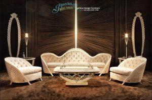 Sofa Ruang Tamu Europe Klasik Mewah Terbaru SST-108
