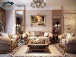 Sofa Tamu Set Ukiran Mewah Terbaru Classic Luxurious SST-100