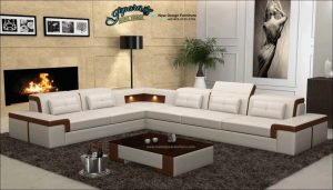 Sofa Tamu Sudut Minimalis Modern Mewah Terbaru Slide SST-119