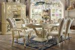 Set Meja Makan Mewah Terbaru Jepara SMM-071, Kursi Makan Mewah Terbaru, Meja Makan Mewah Klasik, Kursi Makan Mewah Klasik