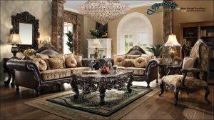 Sofa Kursi Tamu Klasik Anabel Mewah Terbaru Jepara SST-135