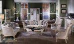 Sofa Ruang Tamu Mewah Model Terbaru Kekinian Jepara SST-127