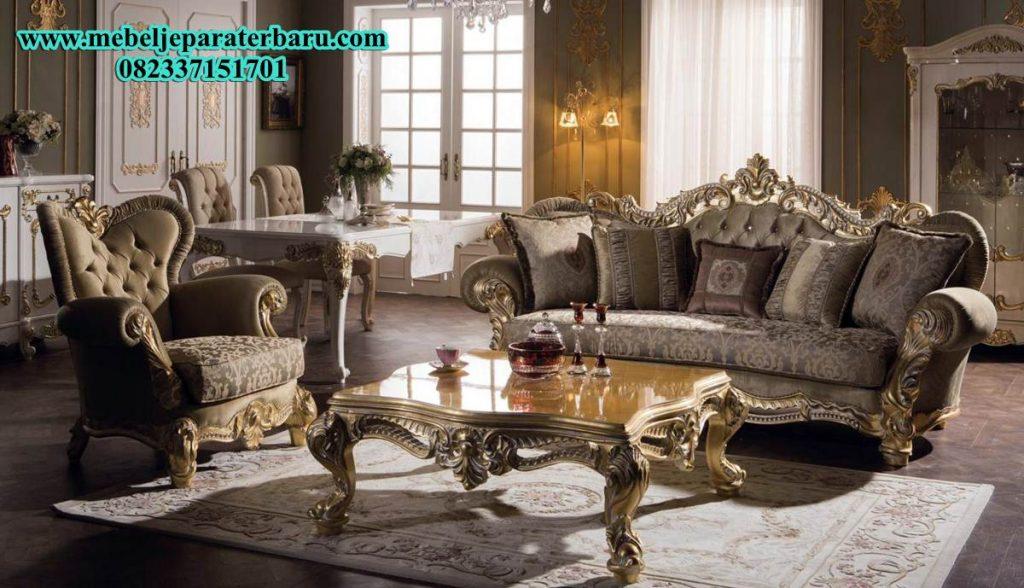set sofa tamu klasik, set sofa ruang tamu klasik, sofa tamu ukiran, set sofa ruang tamu ukiran, set sofa tamu model eropa, sofa tamu eropa mewah, jual sofa tamu klasik