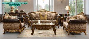 jual sofa tamu klasik ukiran jepara model terbaru mewah modern sst-150