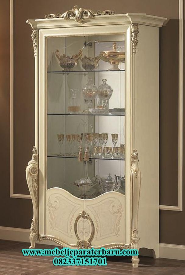 lemari hias, lemari duco. lemari hias duco, lemari hias duco putih, lemari hias kaca, lemari hias mewah, lemari hias modern, model lemari hias, lemari hias model terbaru