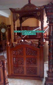 model mimbar masjid jati ukiran jepara mp-015