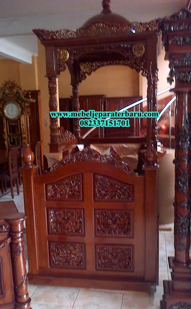 mimbar masjid, model mimbar masjid, mimbar jati, mimbar masjid jati, mimbar jepara, mimbar masjid model terbaru, mimbar jati ukiran, mimbar masjid ukiran, ukuran mimbar masjid