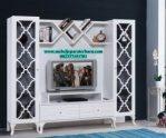 model rak tv minimalis silang duco murah terbaru jepara bt-103