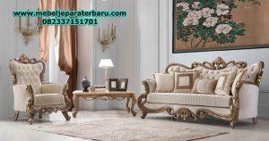 harga set kursi sofa tamu klasik mewah modern ukiran jepara model eropa terbaru sst-164