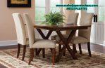 harga set meja makan 4 kursi minimalis modern mebel jepara terbaru smm-137