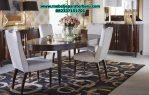 jual set meja makan 4 kursi minimalis modern model terbaru jepara smm-142