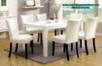 model set meja makan 6 kursi minimalis modern mebel jepara terbaru smm-138