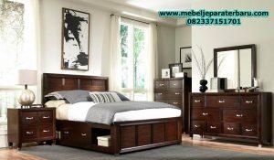 jual set kamar tidur minimalis kayu jati jepara elegant model terbaru stt-115