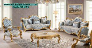 model set sofa tamu klasik gold mewah serbian terbaru jepara sst-170