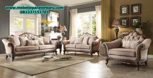 model set sofa tamu klasik jati modern mewah terbaru ukiran jepara sst-167