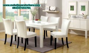 set meja makan minimalis rayyano terbaru smm-154