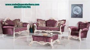sofa ruang tamu modern mewah akik model terbaru sst-180