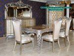 set meja makan model klasik ukir antik jepara smm-165