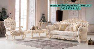 sofa ruang tamu mewah ukiran model terbaru duco sst-182