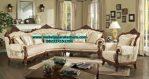 1 set sofa tamu sudut jati klasik model terbaru sst-189