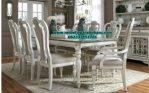 set kursi meja makan klasik modern duco terbaru smm-178