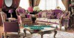 sofa ruang tamu mewah modern king model terbaru sst-196