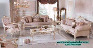 model set sofa ruang tamu terbaru modern klasik sst-224