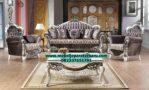 sofa ruang tamu mewah modern model terbaru sst-230
