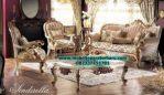 sofa ruang tamu sinderella mewah modern model terbaru sst-231