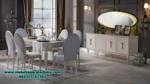 6k set meja makan modern minimalis, set meja makan, set meja makan klasik, set meja makan mewah, set meja makan modern
